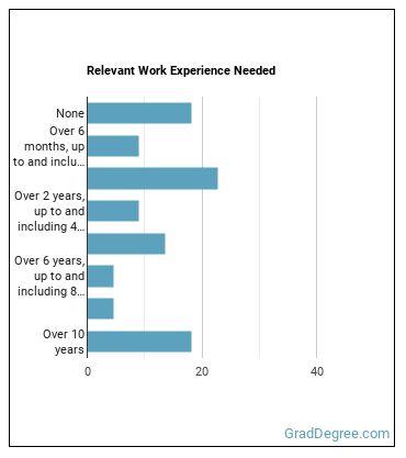 Cost Estimator Work Experience