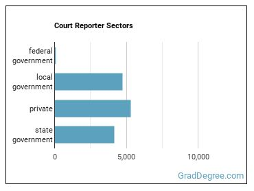 Court Reporter Sectors