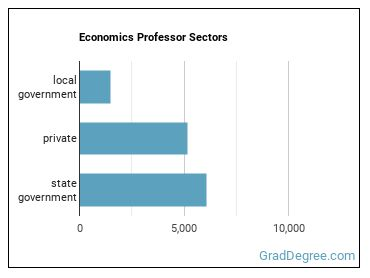 Economics Professor Sectors