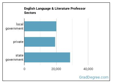 English Language & Literature Professor Sectors