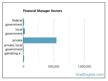 Financial Manager Sectors