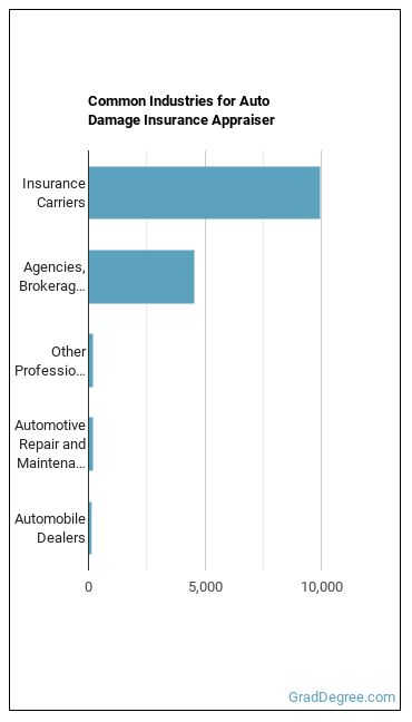Auto Damage Insurance Appraiser Industries