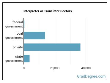 Interpreter or Translator Sectors