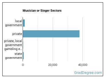 Musician or Singer Sectors