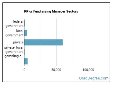 PR or Fundraising Manager Sectors