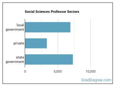Social Sciences Professor Sectors