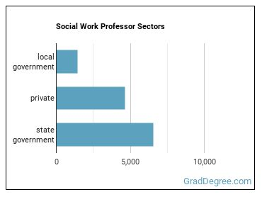 Social Work Professor Sectors