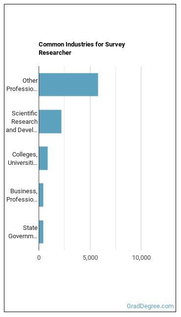 Survey Researcher Industries
