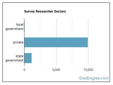 Survey Researcher Sectors