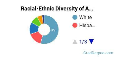 Racial-Ethnic Diversity of ASU - Skysong Graduate Students