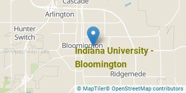 Location of Indiana University - Bloomington