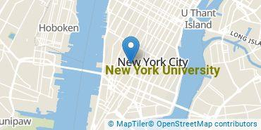 Location of New York University