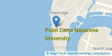 Location of Point Loma Nazarene University