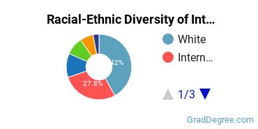 Racial-Ethnic Diversity of Interiors Students with Master's Degrees