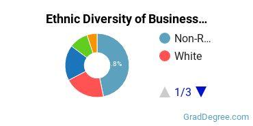 Business Administration & Management Majors in HI Ethnic Diversity Statistics