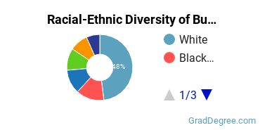 Racial-Ethnic Diversity of Business Administration Students with Master's Degrees