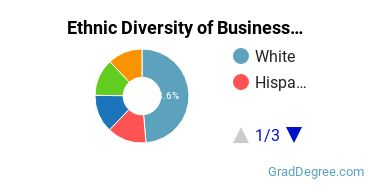 Business Administration & Management Majors in NJ Ethnic Diversity Statistics