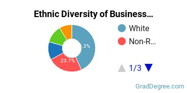 Business Administration & Management Majors in NY Ethnic Diversity Statistics