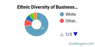 Business Administration & Management Majors in RI Ethnic Diversity Statistics