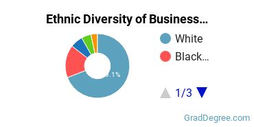 Business Administration & Management Majors in TN Ethnic Diversity Statistics
