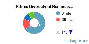 Business Administration & Management Majors in UT Ethnic Diversity Statistics