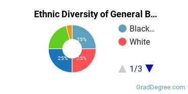 Business & Commerce Majors in AL Ethnic Diversity Statistics