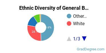 Business & Commerce Majors in CT Ethnic Diversity Statistics
