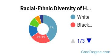 Racial-Ethnic Diversity of HR Students with Master's Degrees