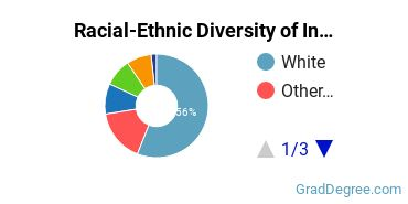 Racial-Ethnic Diversity of Insurance Students with Master's Degrees