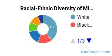 Racial-Ethnic Diversity of MIS Students with Master's Degrees