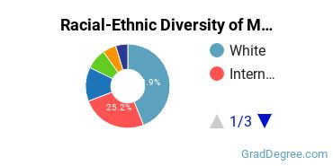 Racial-Ethnic Diversity of Managerial Economics Students with Master's Degrees