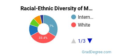Racial-Ethnic Diversity of Marketing Students with Master's Degrees