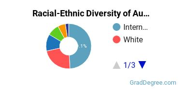 Racial-Ethnic Diversity of Audiovisual Students with Master's Degrees