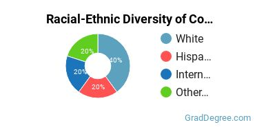 Racial-Ethnic Diversity of Communication Tech Support Students with Master's Degrees