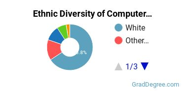 Computer Software Applications Majors in AR Ethnic Diversity Statistics