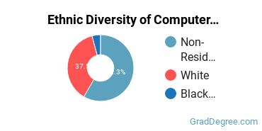 Computer Software Applications Majors in CT Ethnic Diversity Statistics
