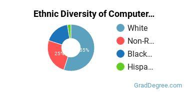 Computer Software Applications Majors in GA Ethnic Diversity Statistics