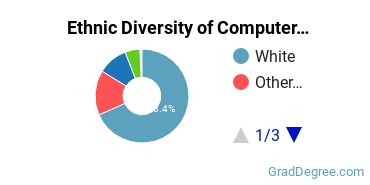 Computer Software Applications Majors in ID Ethnic Diversity Statistics