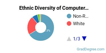 Computer Software Applications Majors in MA Ethnic Diversity Statistics