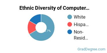 Computer Software Applications Majors in TX Ethnic Diversity Statistics