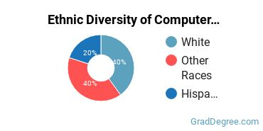 Computer Software Applications Majors in WA Ethnic Diversity Statistics