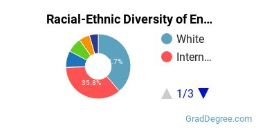 Racial-Ethnic Diversity of Environmental Control Tech Students with Master's Degrees