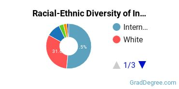 Racial-Ethnic Diversity of Industrial Production Tech Students with Master's Degrees