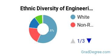 General Engineering Majors in AZ Ethnic Diversity Statistics