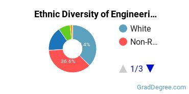 General Engineering Majors in CA Ethnic Diversity Statistics