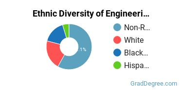General Engineering Majors in MS Ethnic Diversity Statistics