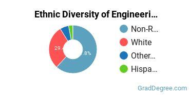 General Engineering Majors in PA Ethnic Diversity Statistics