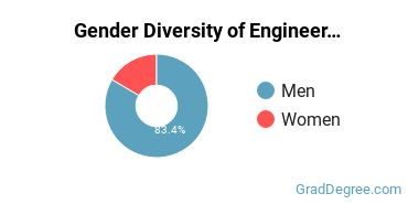 General Engineering Majors in TX Gender Diversity Statistics