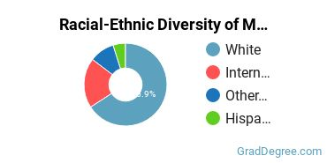 Racial-Ethnic Diversity of Marine Engineering Students with Master's Degrees