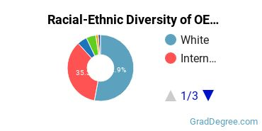 Racial-Ethnic Diversity of OE Students with Master's Degrees